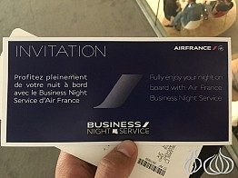 The New Business Night Service Offered by Air France