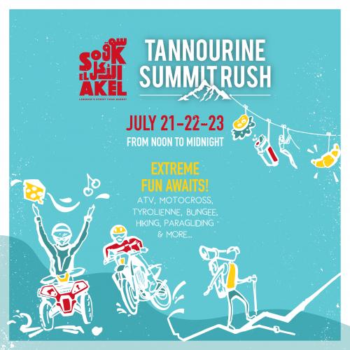 Tannourine Summit Rush 2017: Souk el Akel Goes Wild!