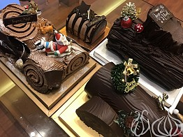 A Comparative Review: Bûche de Noël, 4 Pastry Shops, 1 Winner!