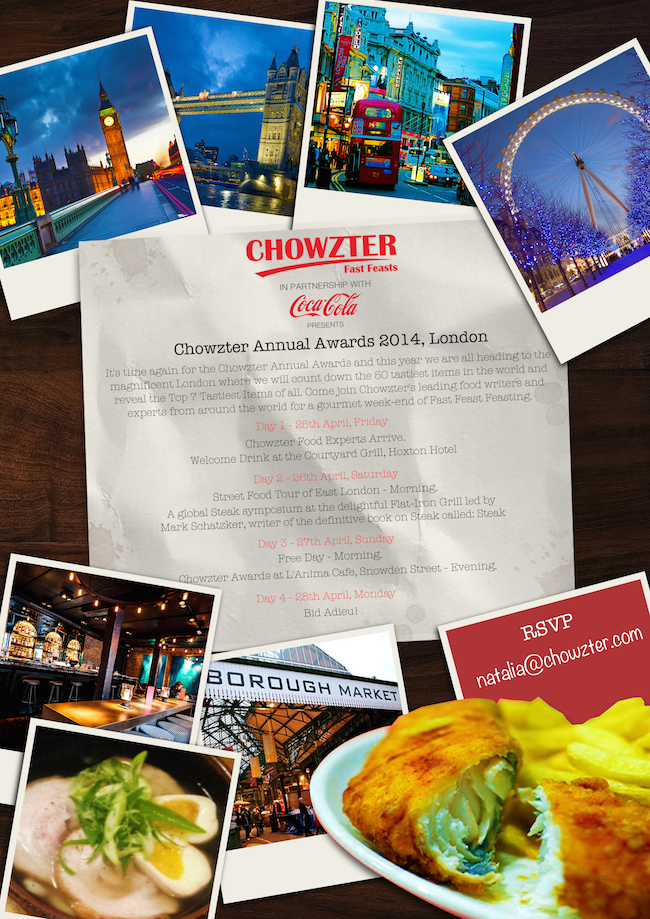 Chowzter World Awards Event 2014: Lebanon will be Represented :: NoGarlicNoOnions: Restaurant, Food, and Travel Stories/Reviews - Lebanon
