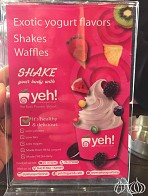 Yeh! Waffles, Pancakes, Crepes and Frozen Yogurt