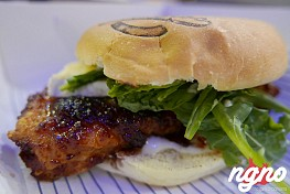 The Bros: The Buffalo Chicken Burger, Now in Mar Mikhael!