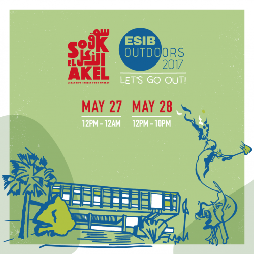 Souk el Akel: The ESIB Outdoors 2017