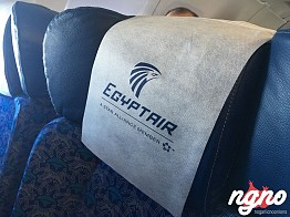 First time on Egypt Air
