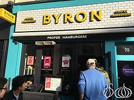 Byron London: A Good Burger if the Bun is Changed