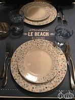 Al Mandaloun Beach Club: Good Food but in a Smoky and Smelly Environment!