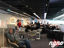 Air France Lounge at Orly Airport