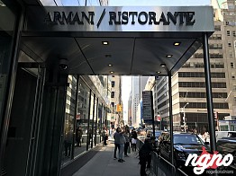 The Armani Ristorante of New York Isn't What I Expected