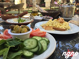 Hotel Colibri Baabdat: A Great Breakfast!