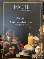 Breakfast at Paul in Dubai; An Enjoyable Start of Day