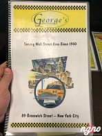 George's New York: American Style Diner Food