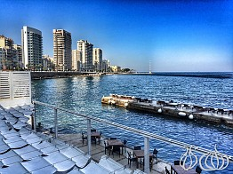 Boulevard: Breakfast in Beirut with a View