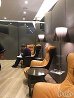 Casa Alitalia Business Lounge Terminal G, Rome Italy