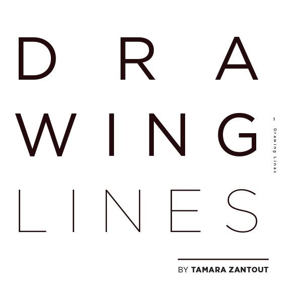 Drawing lines logo