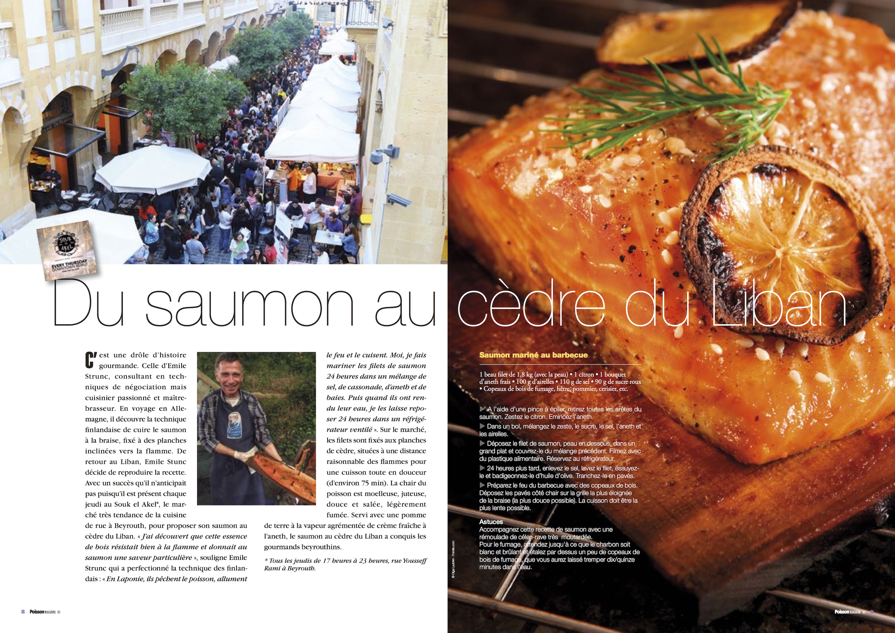 Poisson Magazine Salmon