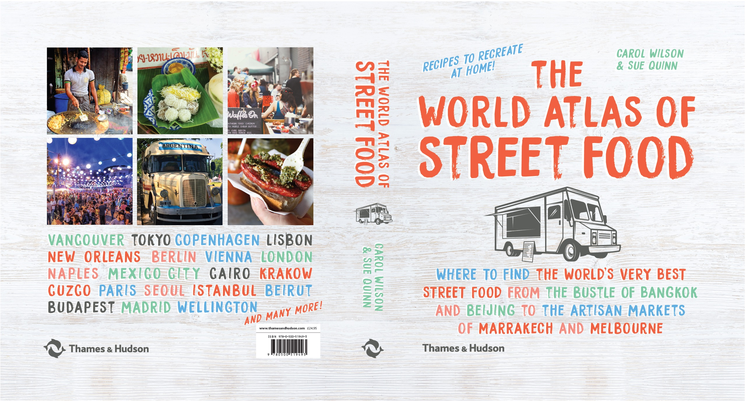 World Atlas of Street Food Book Cover