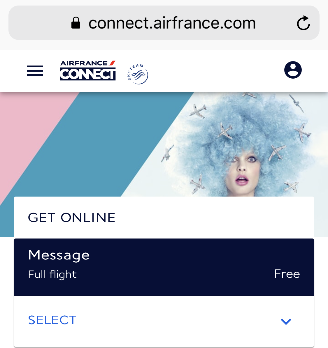 finaly air france launches its new in flight wi fi nogarlicnoonions restaurant food and. Black Bedroom Furniture Sets. Home Design Ideas